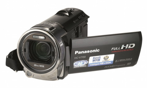 Panasonic HC-V700M HD detail