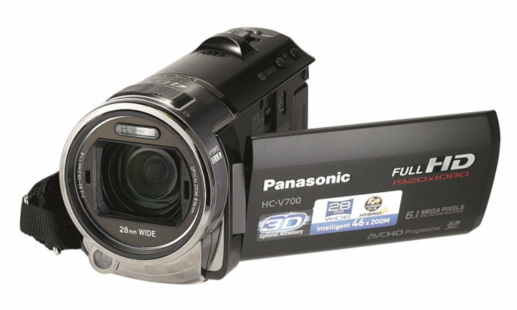Panasonic HC-V700M HD detail