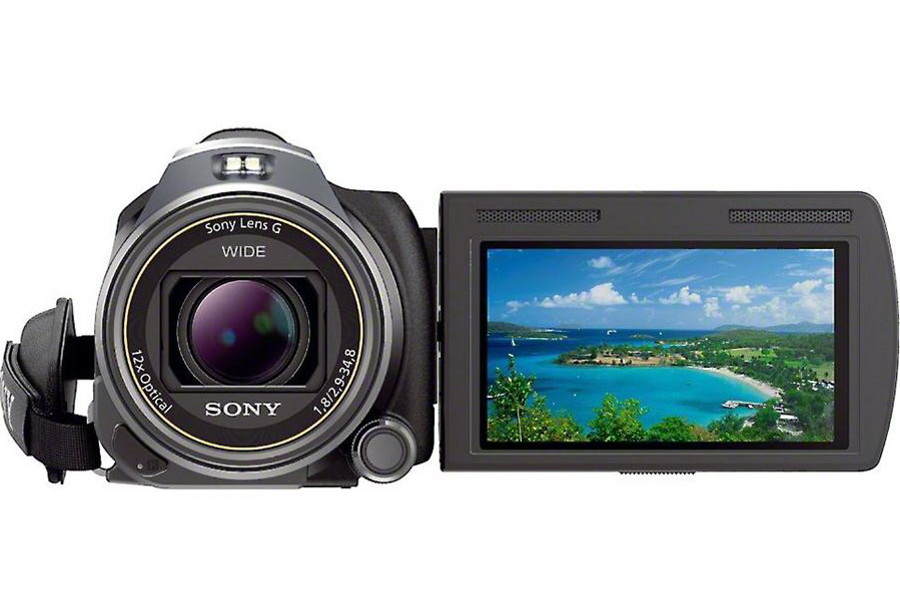 The HDR-PJ650 HD camera by Sony