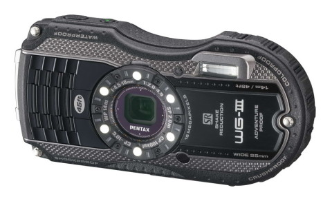 The WG-3 from Pentax rugged camera