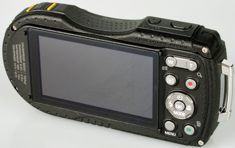 The LCD TFT display of Pentax WG-3