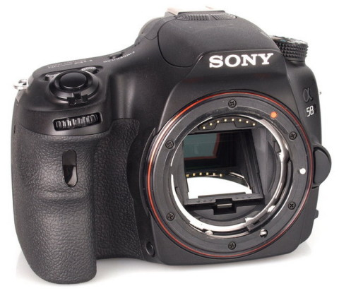 The A58 SLT camera from Soy