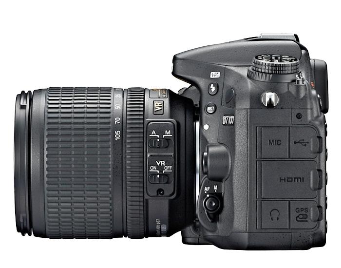 The Nikon D7100 DSLR camera