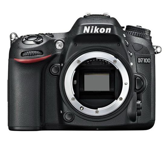 Nikon D7100 body detail