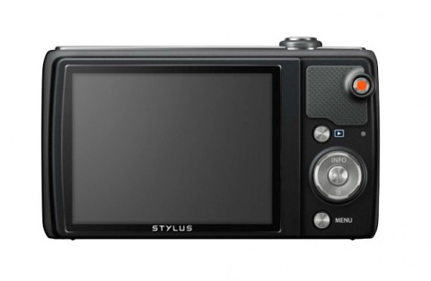 The LCD display of the Olympus VR-370