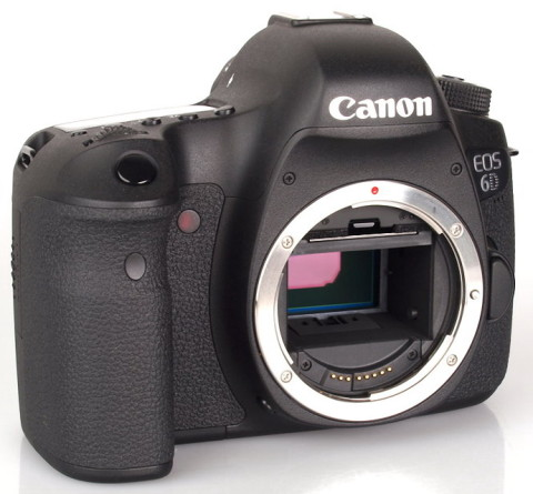 The EOS 6D DSLR from Canon