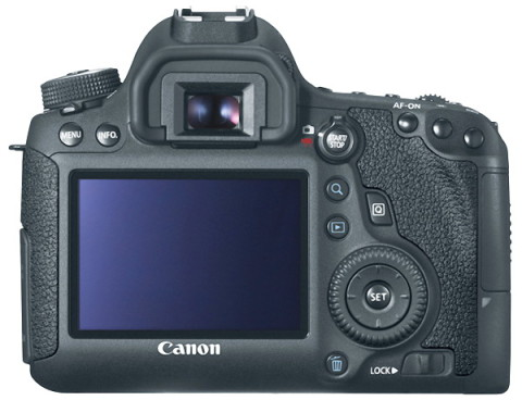 The LCD of EOS 6D
