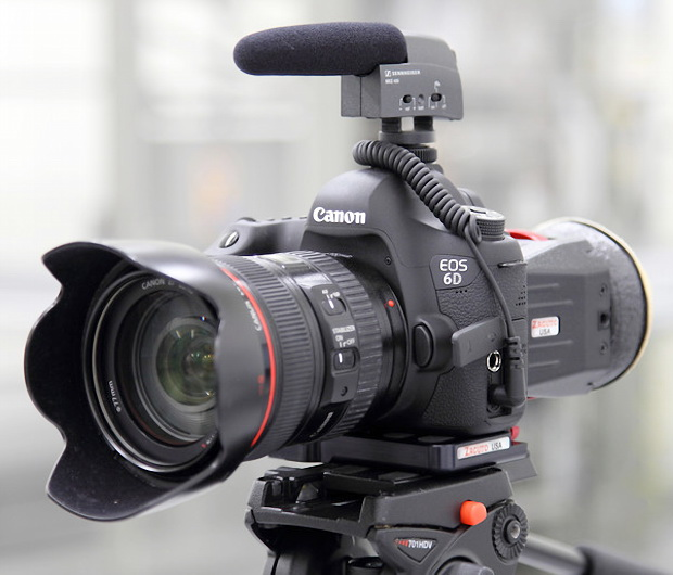 EOS 6D fully equipped