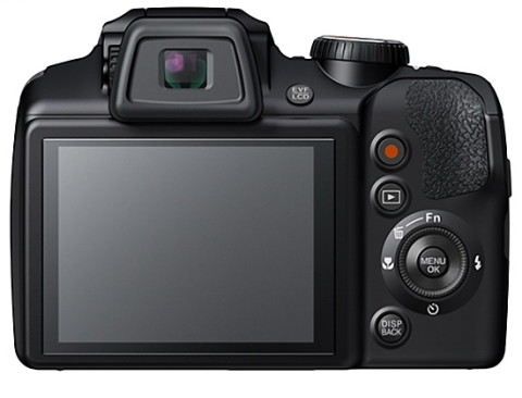 The LCD of the FinePix S8400W