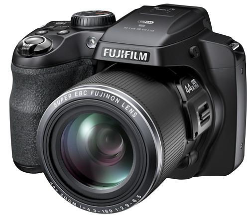 The S8400W superzoom camera from Fujifilm