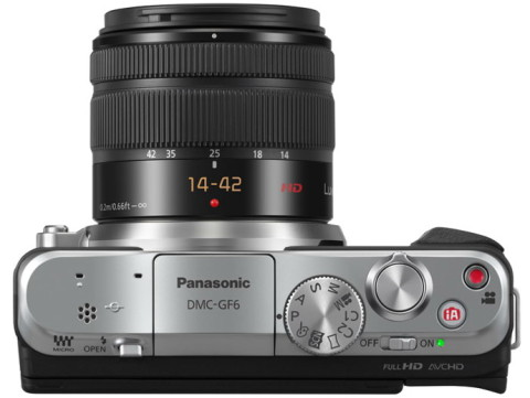 The GF6 mirrorless camera from Panasonic