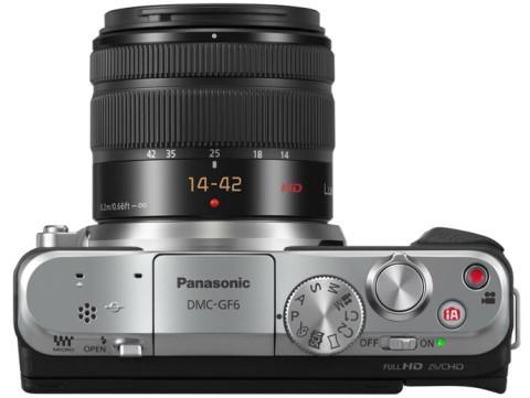The GF6 mirrorless camera from Panasonic