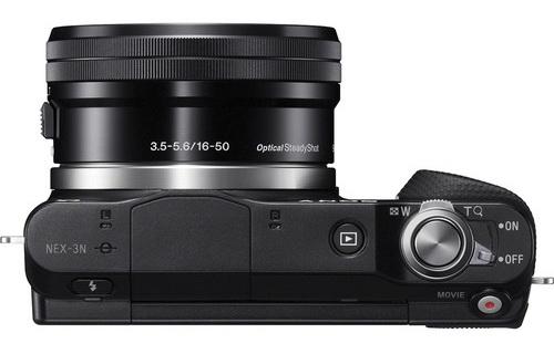 Controls of the Sony NEX-3N