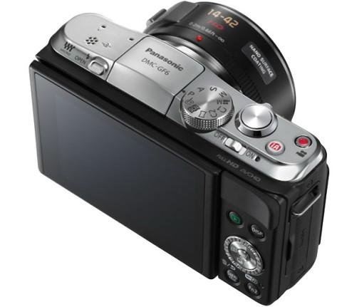 Buttons of the Panasonic GF6
