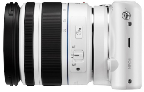 The lens of the Samsung NX2000