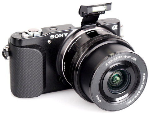 NEX-3N interchangeable lens camera from Sony