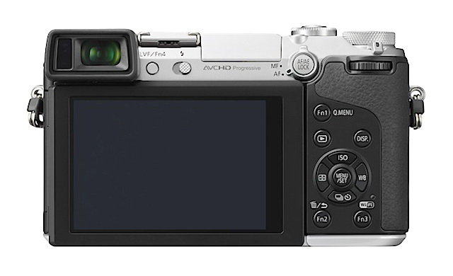 Panasonic Lumix GX7 mirrorless camera