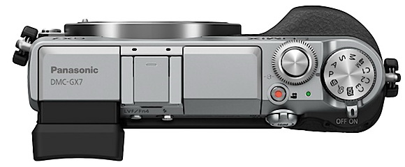 The buttons of the Panasonic GX7