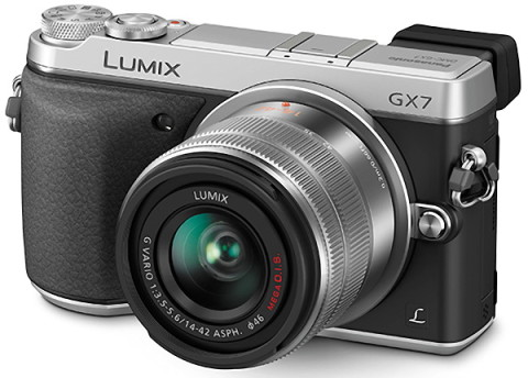 Panasonic GX7 with lens photo