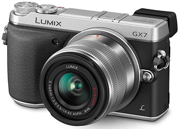 Panasonic GX7 with lens photo