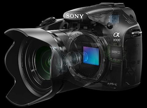 Sony A3000 body