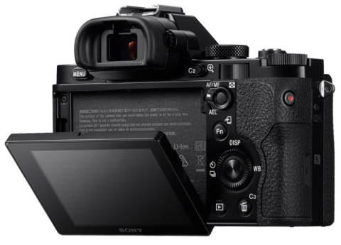 Sony ILCE-7 with tiltable display