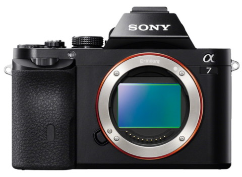 Sony Alpha a7 mirrorless full frame digital camera