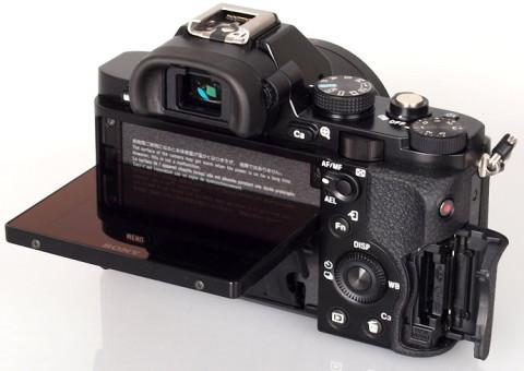 Sony a7 with tiltable LCD