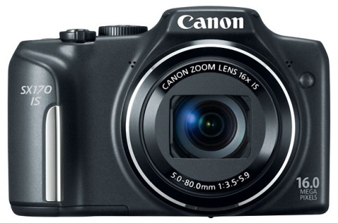 Canon SX170 front view