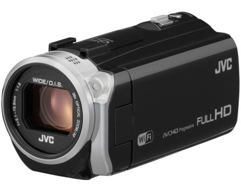 GZ-EX555 Full HD compact camcorder from JVC