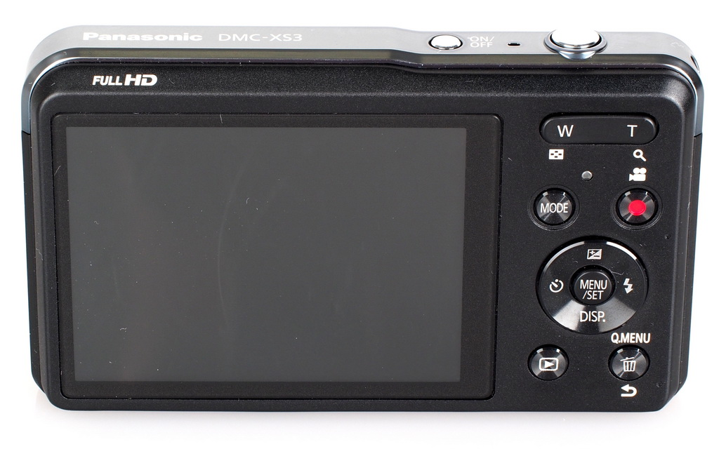 Lumix XS3 display