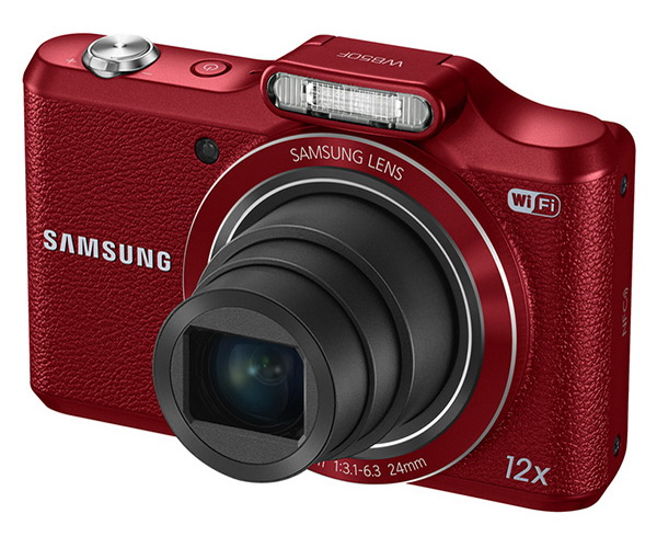 Samsung WB50F red with 12x optical zoom