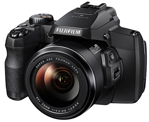 Fujifilm FinePix S1 weather-proof bridge camera