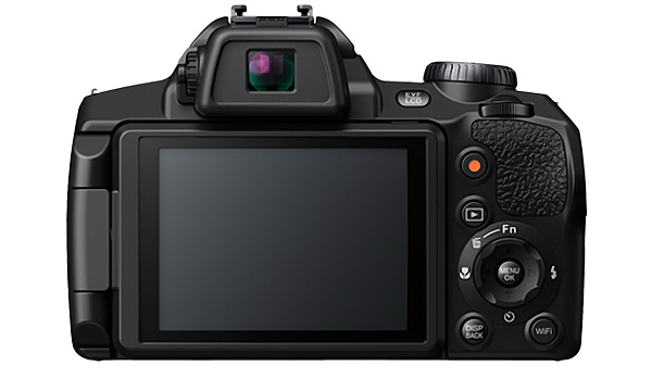 the TFT LCD monitor of the Finepix S1