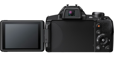 Fujifilm S1 rear view