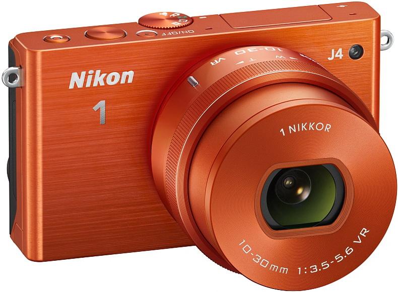 Nikon 1 J4 orange